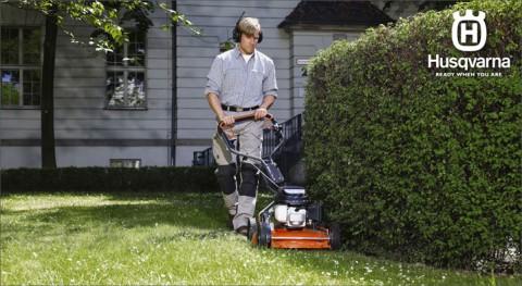 Professional mulching mowers – Husqvarna LB series lawn mowers